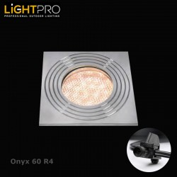 Lightpro 12V Onyx 60 R4 IP44 Decking Light