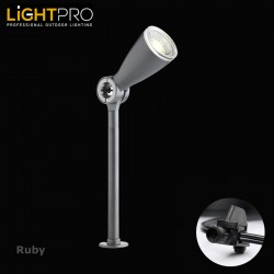 Lightpro 12V Ruby 3W IP44 Outdoor / Garden Post Light