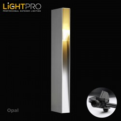 Lightpro 12V Opal 3W IP44 Outdoor / Garden Post Light