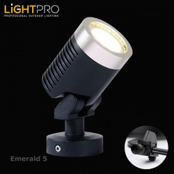 Lightpro 12V Emerald 5 5W LED IP44 Outdoor / Garden Spotlight