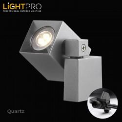 Lightpro 12V Quartz 2W LED IP44 Outdoor / Garden Wall Light