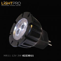 MR11 3W Power LED 3000K