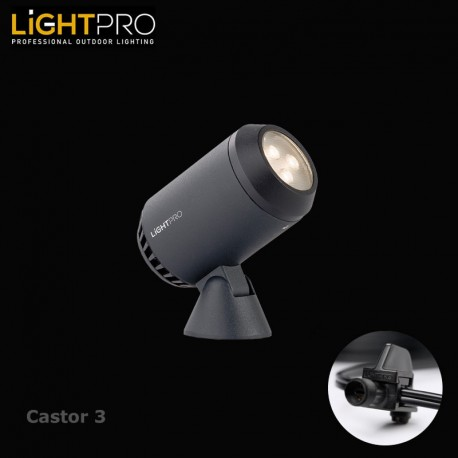Lightpro 12V Castor 3 2.5W IP44 Spot Light