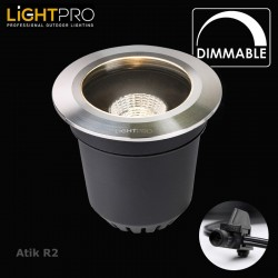 Lightpro 12V Atik R2 9W Dimmable Ground Light