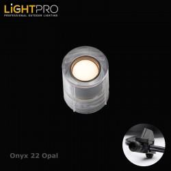 Lightpro 12V Onyx 22 Opal Deck Light
