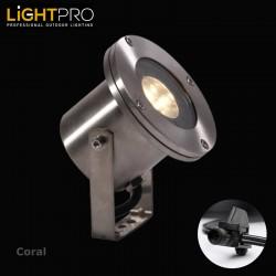 Lightpro 12V Coral 3W IP68 Outdoor / Garden Spotlight