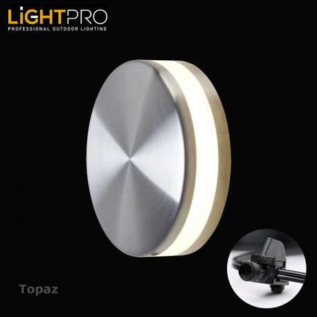 Lightpro 12V Topaz 3W LED IP44 Outdoor / Garden Wall Light