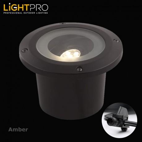 Lightpro 12V Amber 5W IP44 Outdoor / Garden Up Light