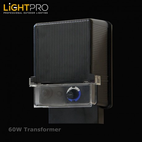 Lightpro 60W Transformer Timer & Light Sensor