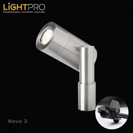 Lightpro 12V Nova 3 3W LED IP44 Outdoor / Garden Spotlight
