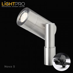 Lightpro 12V Nova 5 5W LED IP44 Outdoor / Garden Spotlight