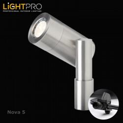 Lightpro 12V Nova 5 5W LED IP44 Outdoor / Garden Spotlight