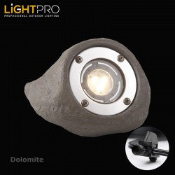 Lightpro 12V Dolomite 3W LED IP68 Outdoor / Garden Spotlight