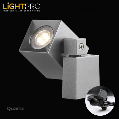 Lightpro 12V Quartz 2W LED IP44 Outdoor / Garden Wall Light