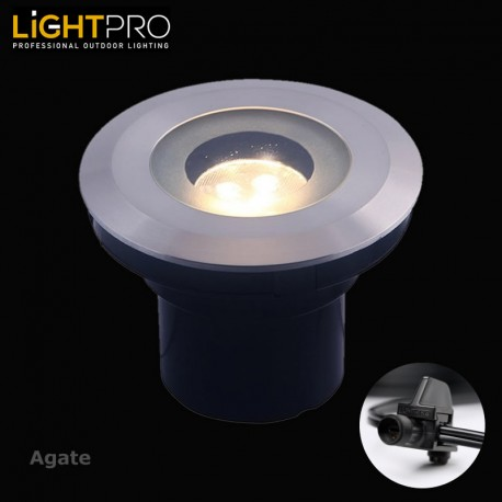 Lightpro 12V Agate 3W LED IP44 Outdoor / Garden Up Light