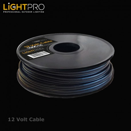 Lightpro 100MTR Drum 14AWG Cable