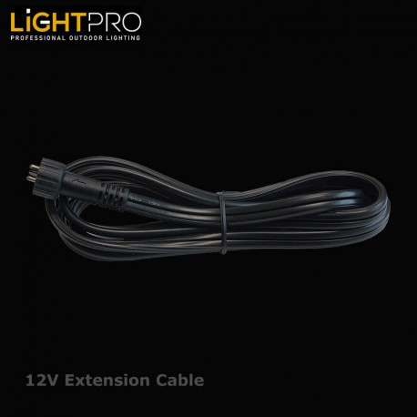 Lightpro 1MTR 12 Volt Extension Cable