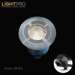 Lightpro 12V Onyx 30 R1 IP67 Decking Light