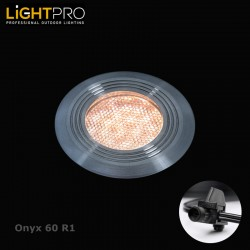 Lightpro 12V Onyx 60 R1 IP67 Decking Light