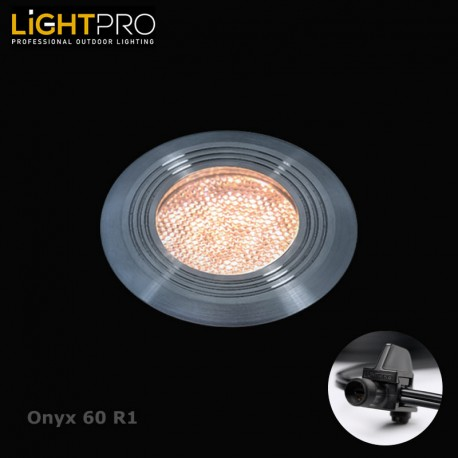 Lightpro 12V Onyx 60 R1 IP44 Decking Light
