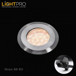 Lightpro 12V Onyx 60 R3 IP44 Decking Light