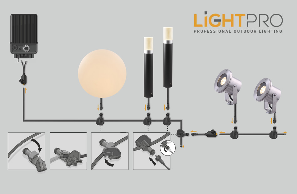 lightpro garden lighting system